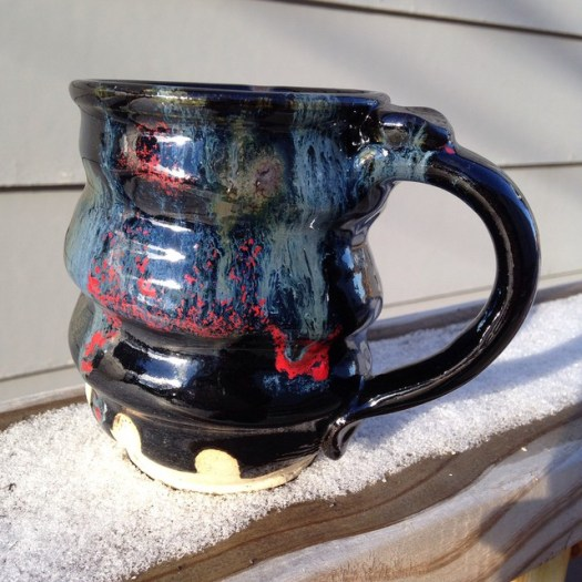 Cosmic Mug, Handmade Ceramic Pottery, Cherrico Pottery, 2015