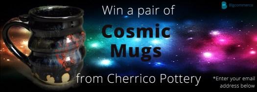 Bigcommerce Cosmic Mug Giveaway, Cherrico Pottery Blog Post, compressed