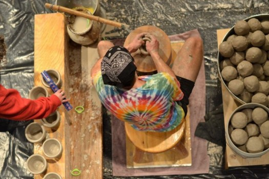 Joel Throwing Pots, Photo by Julia Eckart03