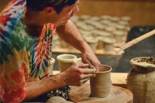 Joel Throwing Pots, Photo by Julia Eckart08