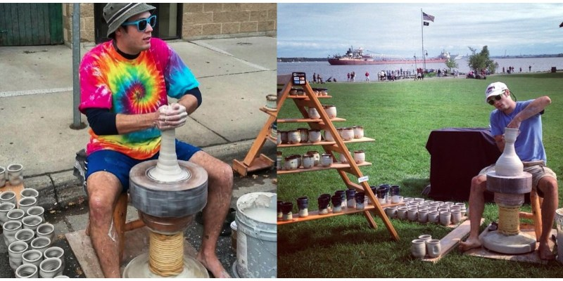 Craigslist Duluth Superior >> The Art of Throwing Pottery on a Kick Wheel   Joel ...
