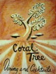The Coral Tree 24x32, Acrylic and Mixed Media on Panel (2003) by Cherry Capri