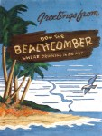 Don the Beachcomber 24x32, Acrylic and Mixed Media on Panel (2003) by Cherry Capri