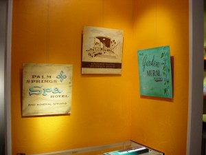 Come for Sun Swim Fun Matchbook Gallery Show in Palm Springs