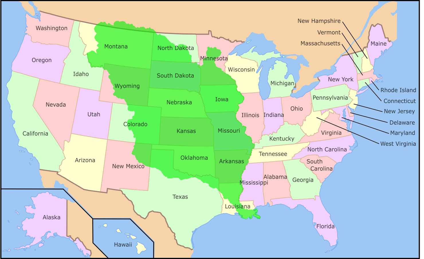 Louisiana Purchase Announced on July 4th 1803 - on