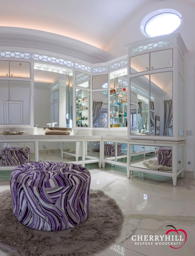 The main en-suite in a private Sandhurst residence.