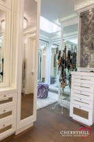 The lady's dressing room in a private Sandhurst residence.