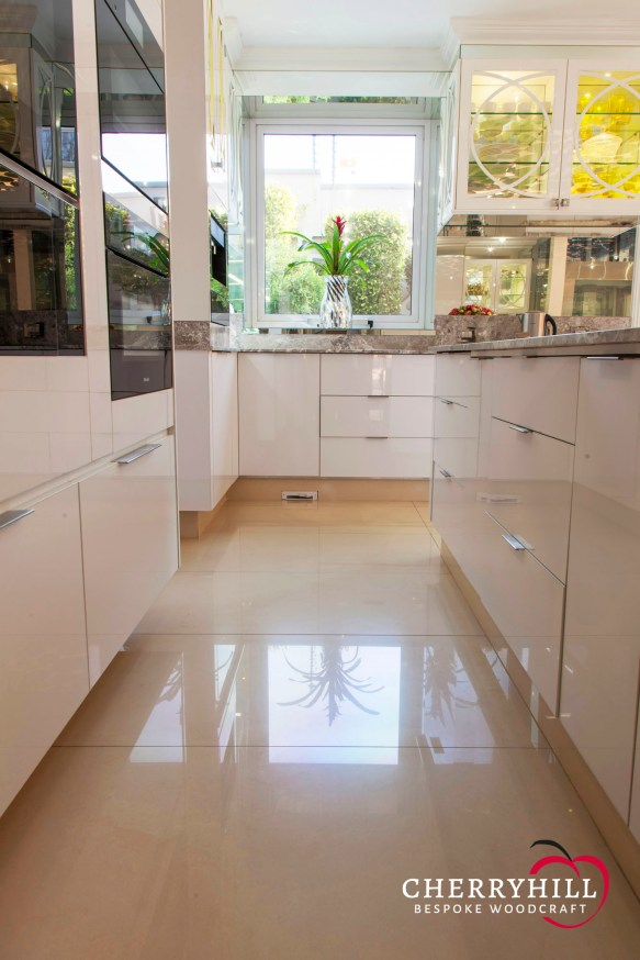 The kitchen in a private Sandhurst residence.