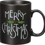 Holly Design Merry Christmas Stoneware Coffee Mug 20 Oz From Primitives By Kathy