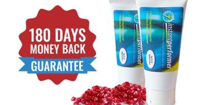 Instant Performer male enhancement cream money back guarantee
