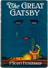 The cover of The Great Gatsby, which is no longer under copyright.