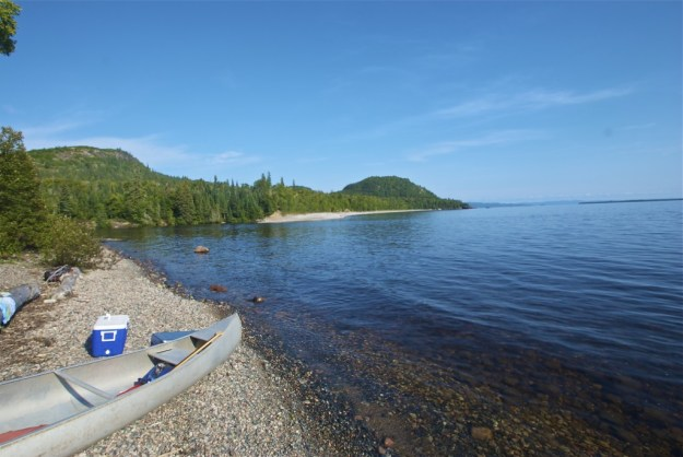 Paddling in northern Michigan is the perfect backwoods activity.
