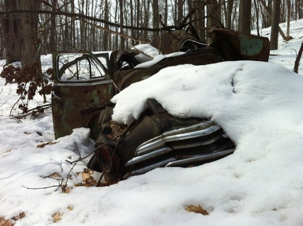 The abandoned Chevy