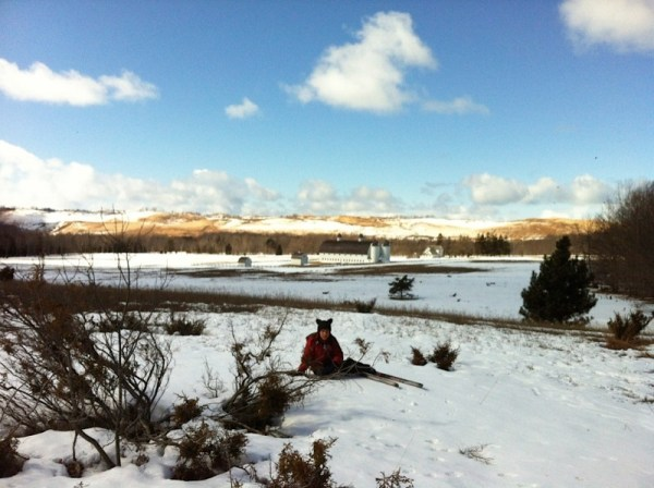 Colebrook skiing at DH Day Farm.