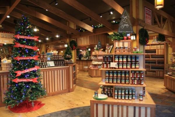 Directional Christmas tree