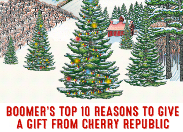 10 reasons to give cherry republic