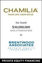 Chamilia Series A Preferred Stock