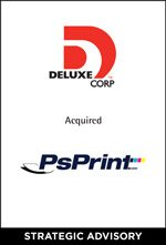 Deluxe Corp. acquired PsPrint