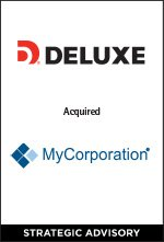 Deluxe Corp. acquired MyCorporation