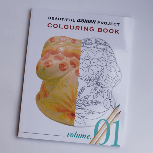 Volume 1 of the Beautiful Women Project colouring e-books