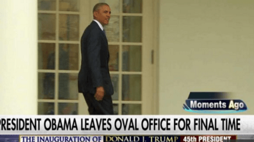 Obama Leaves, Trump Arrives, and the Adults Again Take Charge