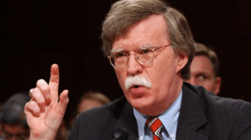 John Bolton 'Concerned' Trump May Be Backtracking, Softening on Israel