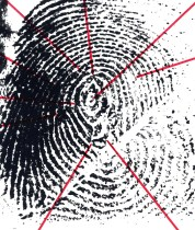 Points on a fingerprint