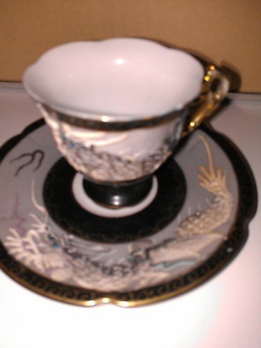 Dragon Cup and Saucer