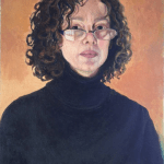Self Portrait (acrylic on paper)