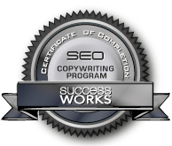 SEO Certified Copywriter Badge