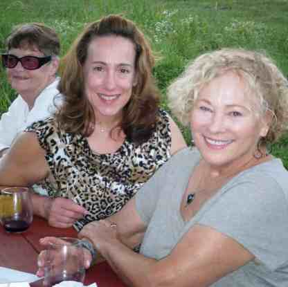Cynthia (middle) & Patricia (right) at a sailing club event.