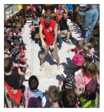Field trip at Pirate Adventures