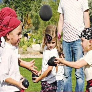 Pirate Party Games - Cannonball Toss