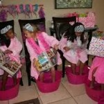 birthday party places for kids - spa day