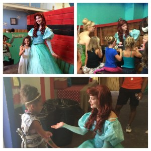 Pirates and Princesses cruise with Ariel and Tinkerbell
