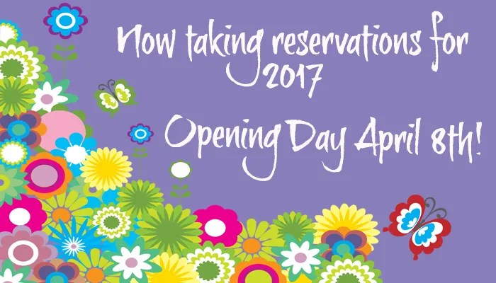 Opening Day April 8th 2017