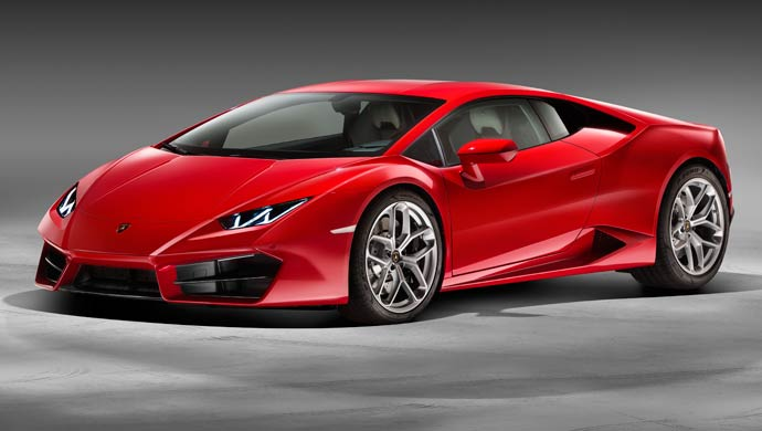 luxury car red