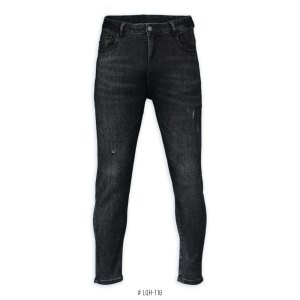 <b>SKINNY STRETCH JEANS</b> <br>LQH-097 | Black