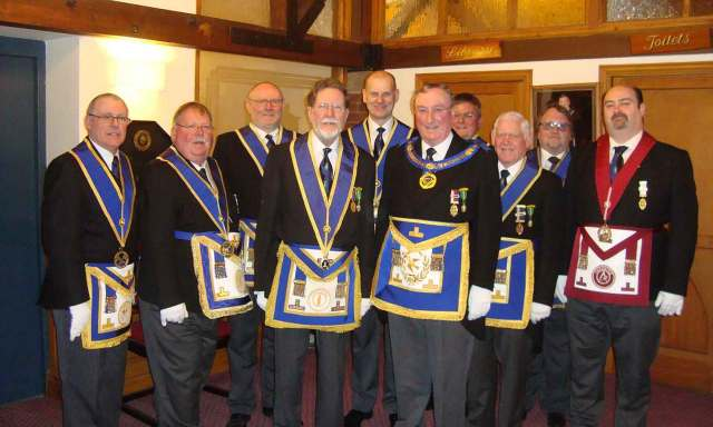 Cheshire's Acting Provincial Officers with Bob Reardon
