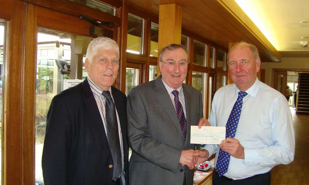 Hospice of the Good Shepherd benefit from Freemasons generosity