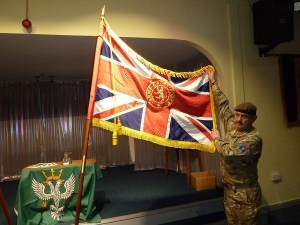 Heswall Army Cadet ensign