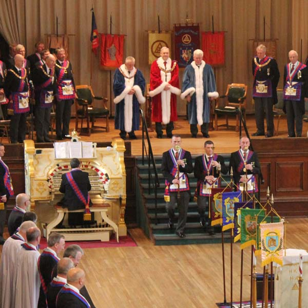 Immediately following the Closing of Provincial Grand Chapter