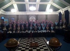 WBro Keith Sharp with guests