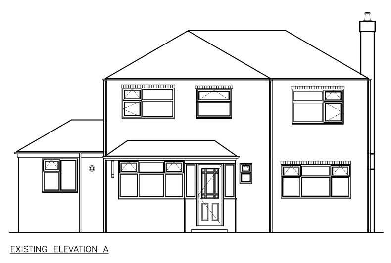 First Floor Elevation Definition : Exterior elevations notes to self