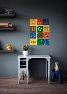 Miffy Wall Art Child Playroom