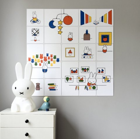Miffy Wall Art Child Bedroom Nursery