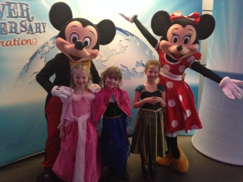 Meeting Disney On Ice Cast