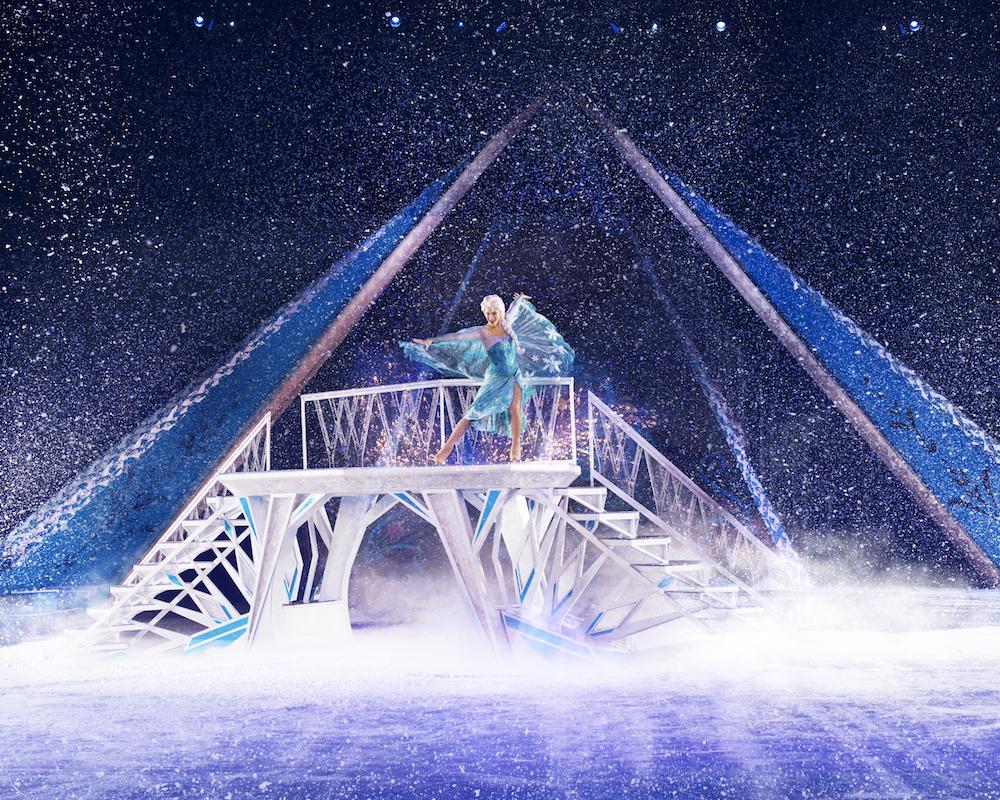 disney on ice frozen elsa castle