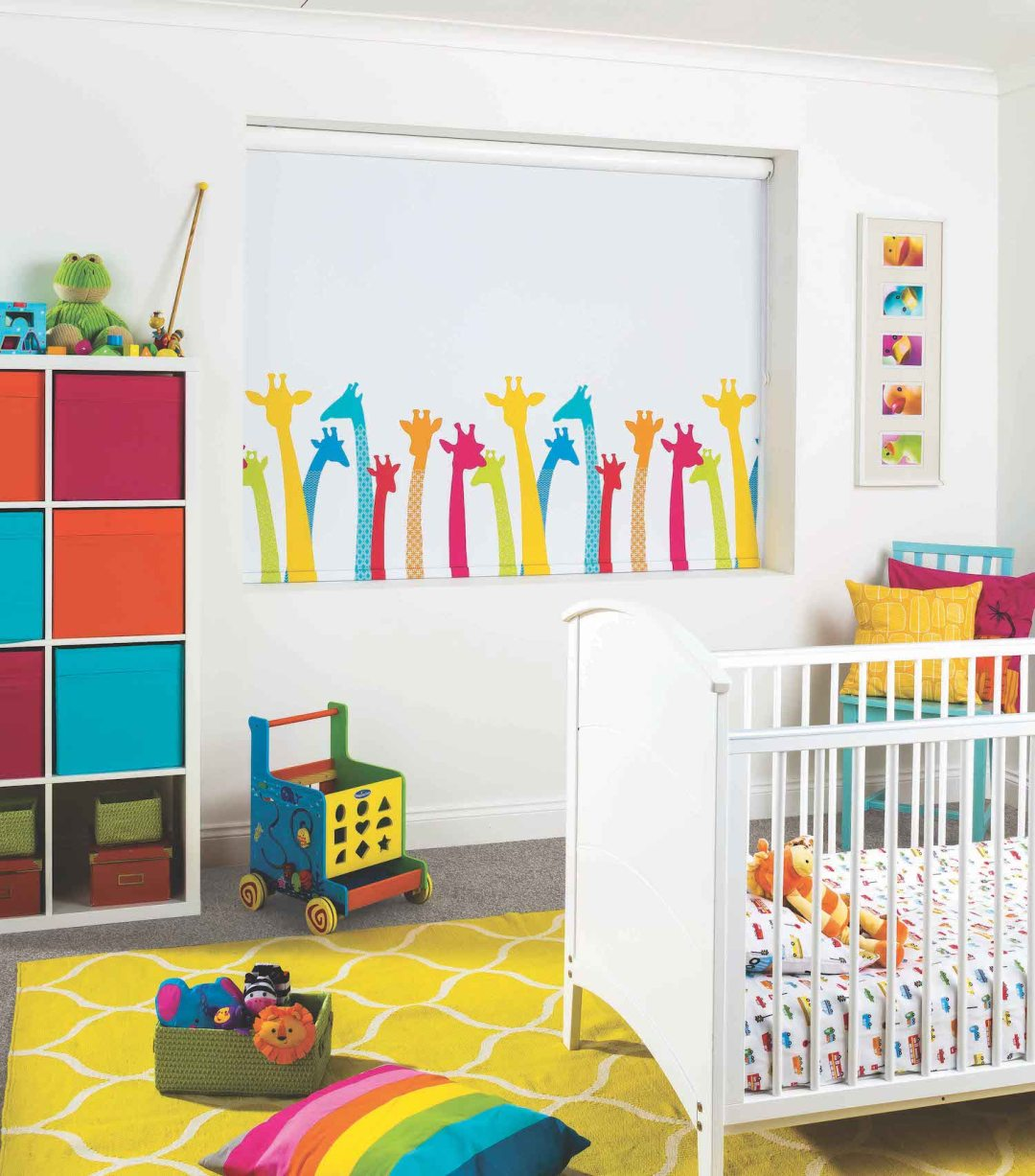 Bright nursery bedroom idea inspiration