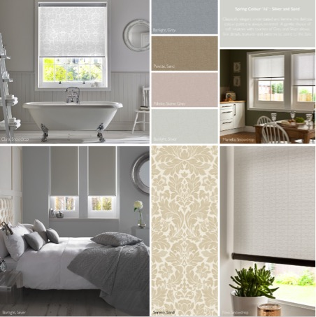 Colour trends 2016 Silver and Sand